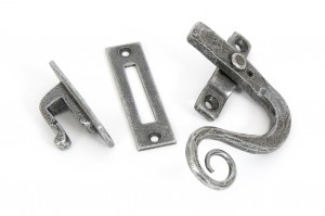 ANVIL - Pewter Monkeytail Fastener RH - Locking