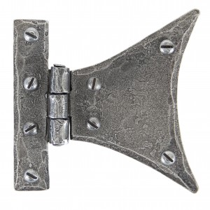 ANVIL - Pewter 3 1/4'' Half Butterfly Hinge (pair)  Anvil33783