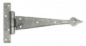 ANVIL - Pewter 9'' Arrow Head T Hinge (pair)  Anvil33790