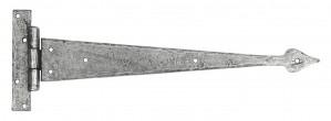 """ANVIL - Pewter 15"""" Arrow Head T Hinge (pair)  Anvil33791"""