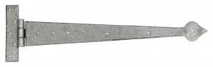 "ANVIL - Pewter 22"" Arrowhead T Hinge (pair)  Anvil33792"