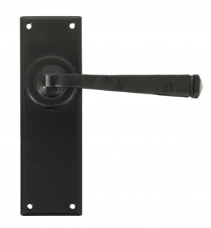 ANVIL - Black Avon Lever Latch Set