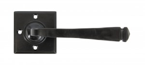ANVIL - Black Avon Lever on Rose Set Unsprung