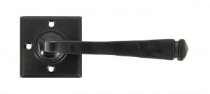 ANVIL - Black Avon Lever on Rose Set Unsprung  Anvil33873