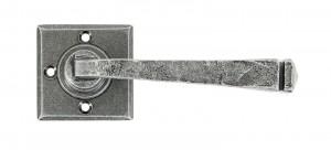 ANVIL - Pewter Avon Lever on Rose Set Unsprung  Anvil33874