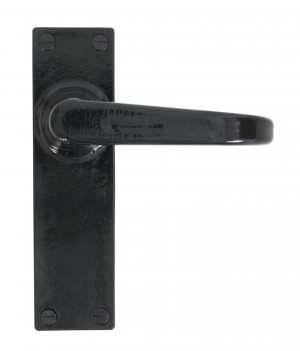 ANVIL - Black Deluxe Lever Latch Set