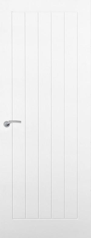 Premdor Vertical 5 Panel Internal Door - Semi Solid Core