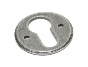 ANVIL - Pewter Regency Euro Escutcheon