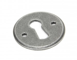 ANVIL - Pewter Regency Escutcheon  Anvil45123