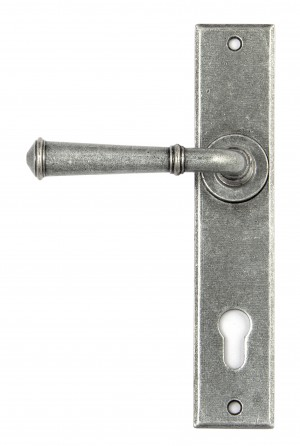 ANVIL - Pewter Regency Lever Espag. Lock Set  Anvil45129