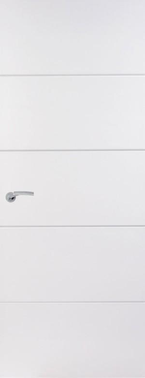 Premdor Horizontal 4 Line Internal Door -  Safe N Sound core
