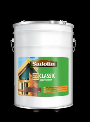 Sadolin Classic All Purpose Woodstain Teak 20L  5028464