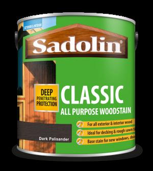 Sadolin Classic All Purpose Woodstain Dark Palisander 2.5L [MPPSPPH]  5028476