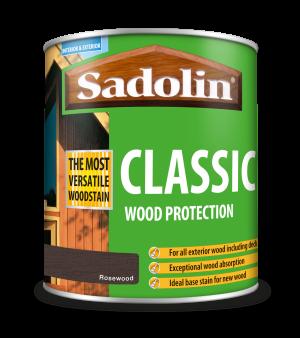 Sadolin Classic All Purpose Woodstain Rosewood 1L [MPPSPWJ]  5028487
