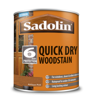 Sadolin Quick Dry Woodstain Antique Pine 1L  5028773