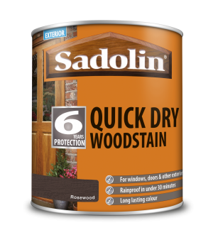 Sadolin Quick Dry Woodstain Rosewood 1L  5028792