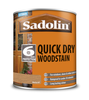 Sadolin Quick Dry Woodstain Natural 1L  5028801