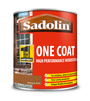 Sadolin One Coat High Performance Woodstain Antique Pine 1L