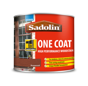 Sadolin One Coat High Performance Woodstain Rosewood 500ml