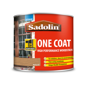 Sadolin One Coat High Performance Woodstain Natural 500ml