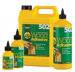 SikaEverbuild 502 All Purpose Waterproof Wood Adhesive