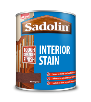 Sadolin Interior Stain Mahogany 750ml