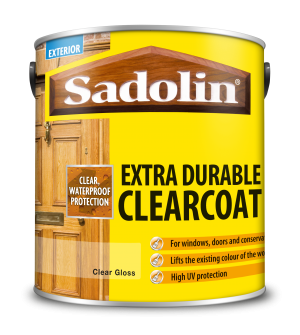 Sadolin Extra Durable Clearcoat Clear Gloss 2.5L  5051845
