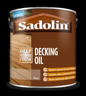 Sadolin Decking Oil Clear 2.5L  5090142