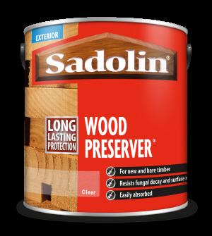 Sadolin Wood Preserver Clear 2.5L  5090722