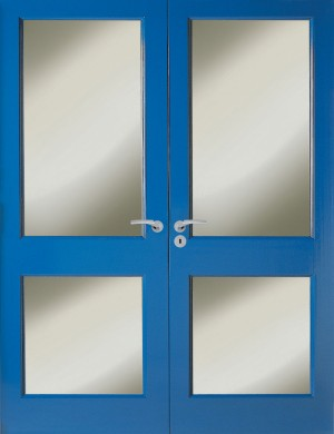 Premdor 22 Softwood External Door Pair (1981x1168x44mm)