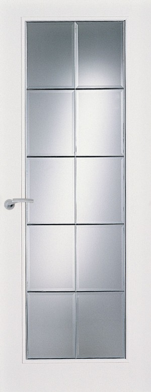 Premdor Ontario 10 Light Canadian Glazed Smooth Internal Door