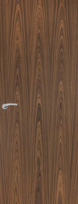 Premdor - Portfolio Walnut Vertical Internal FD60 Fire Door