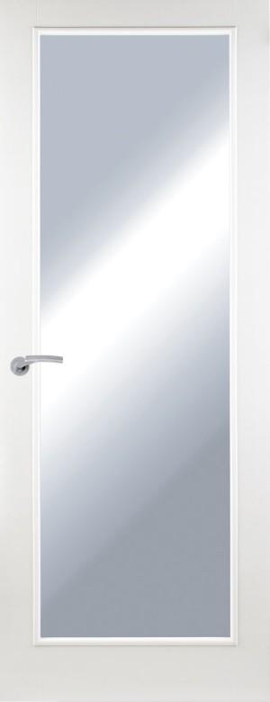 Premdor 1 Panel Internal Door - with Clear Glass