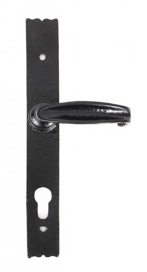 ANVIL - Black Antique Cottage Lever Unsprung Espag. Lock Set  Anvil73143