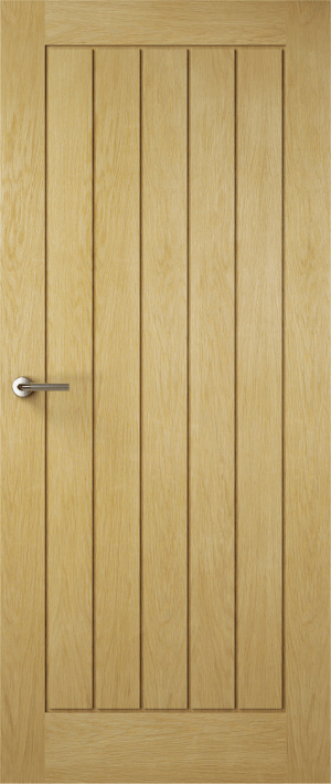 Premdor Contemporary Croft Solid Oak Internal Fire Door - Fully Finished