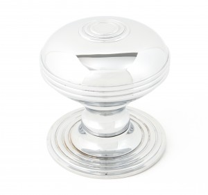 ANVIL - Polished Chrome Prestbury Centre Door Knob