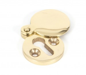 ANVIL - Polished Brass Round Escutcheon