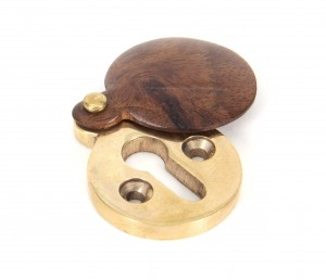 ANVIL - Rosewood Round Escutcheon