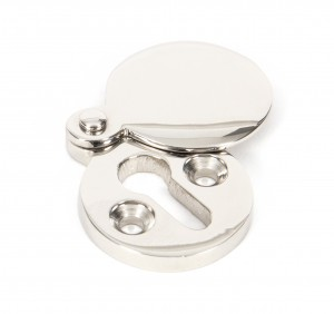 ANVIL - Polished Nickel Round Escutcheon