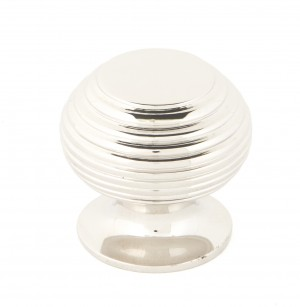 ANVIL - Polished Nickel Beehive Cabinet Knob - Small  Anvil83867