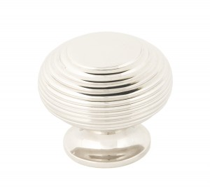 ANVIL - Polished Nickel Beehive Cabinet Knob - Large  Anvil83868