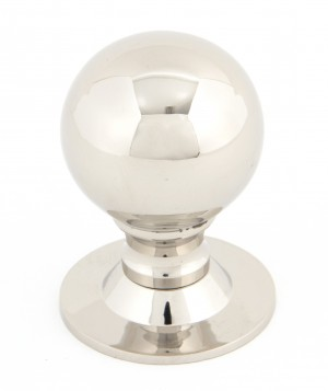 ANVIL - Polished Nickel Ball Cabinet Knob - Large  Anvil83882