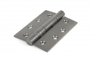"ANVIL - Pewter 4"" Ball Bearing Butt Hinge (Pair)  Anvil90027"