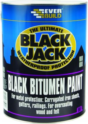SikaEverbuild Black Jack 901 Bitumen Paint Black