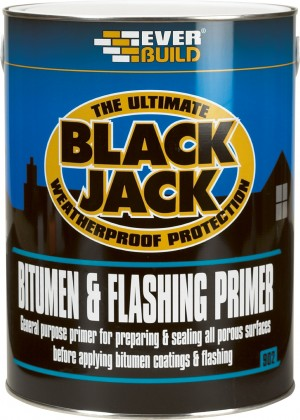 SikaEverbuild 902 Bitumen & Flash Primer Black