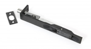 ANVIL - Black PVD Stainless Steel 6'' Flush Bolt