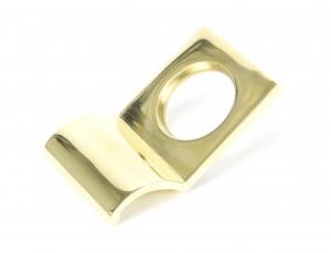 ANVIL - Polished Brass Rim Cylinder Pull