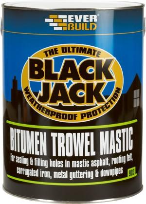 SikaEverbuild Black Jack 903 Bitumen Trowel Mastic Black