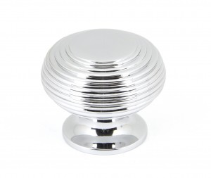 ANVIL - Polished Chrome Beehive Cabinet Knob - Large  Anvil90336