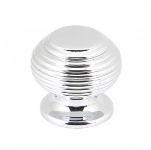 ANVIL - Polished Chrome Beehive Cabinet Knob - Small
